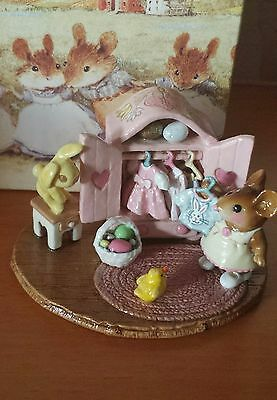 "Wee Forest Folk ""Molly's Easter Choice"" M-257a LIMITED EDITION Mint"