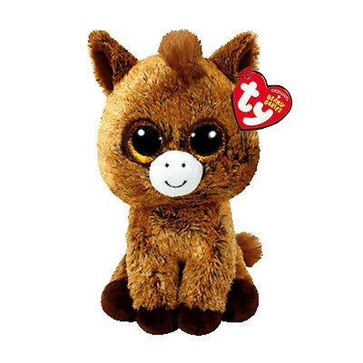 "Harriet Horse Plush Soft Toy, Ty Beanie Boo's Collection 6"" (15cm)"