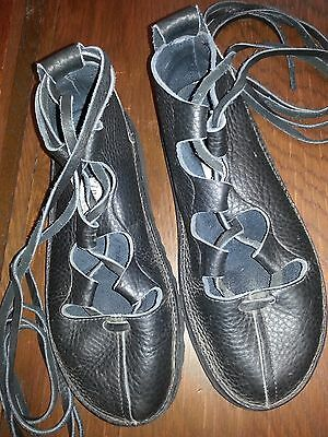 Renboots Gilly Leather lace up shoes LARP Renisance Unisex