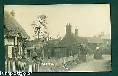 ADSTOCK,VILLAGE VIEW, vintage postcard