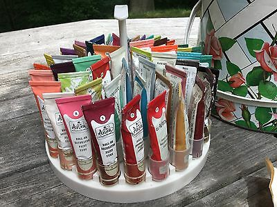 69 Vintage Artex  Paints, Can, Stylus, Tips, Tip Tool, Paper Instructions!