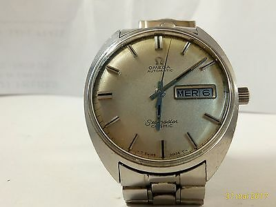 OMEGA SEAMASTER COSMIC  montre Automatic Vintage Day Date 70's