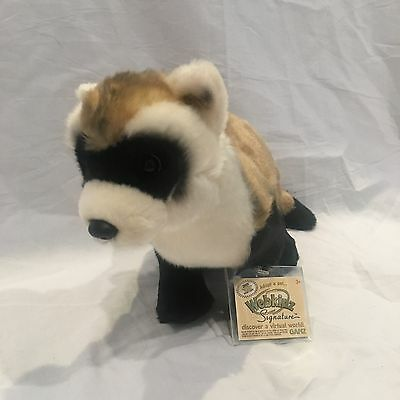 Webkinz Signature Black Footed Ferret WITH CODE New Condition