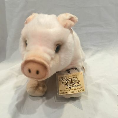 Webkinz Signature Pig WITH CODE New condition