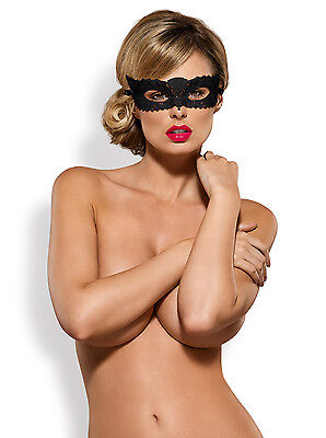 OBSESSIVE A700 Luxury Decorative Tie Up Eye Mask