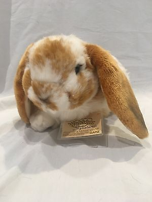 Webkinz Signature Lop Bunny WITH CODE New condition