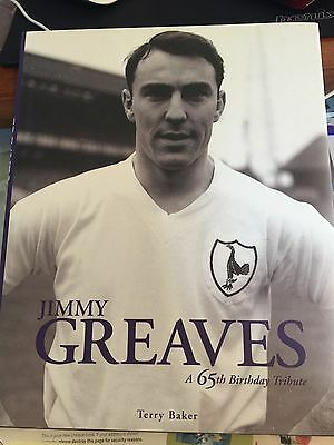 SIGNED COPY OF THE JIMMY GREAVES AT 65 Captains Edition Signed Greaves McKay &1