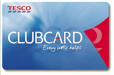 £10 Tesco clubcard vouchers ( worth £40 in deals )