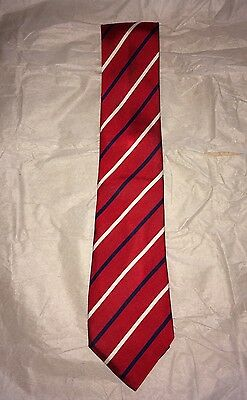 Hackett All Silk 6 Nations Championship Rugby 2005 Monogrammed Tie