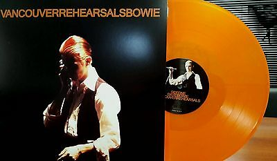 David Bowie Vancouver Rehearsals Coloured Vinyl 2 LPs New Rare Limited Numbered