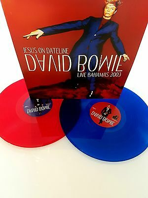 David Bowie Jesus On Dateline Coloured Vinyl 2 LPs New Rare Limited Numbered