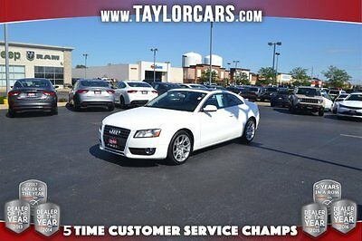 2011 Audi A5  2011 Coupe Used Gas I4 2.0L/121.1 6-Speed Automatic AWD White