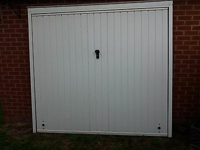 Cardale up and over garage door in white