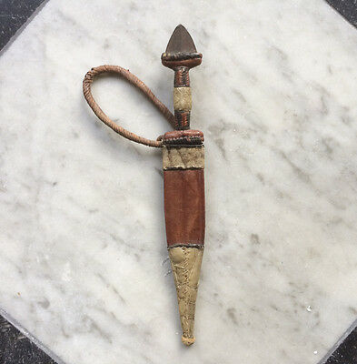 Antique North-Africa? Knife + Scabbard Circa 1900