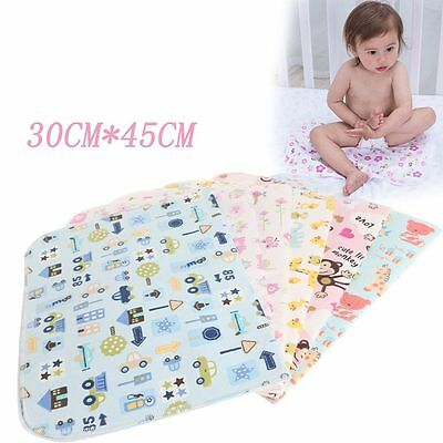 30*45 CM Soft Baby Urine Pad Absorbent Cloth Cotton And Bamboo Fiber Mat Towel