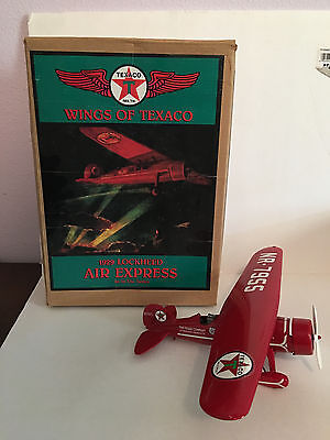 Ertl Wings of Texaco: 1929 Lockheed Air Express Plane and Coin Bank #1 (1993)