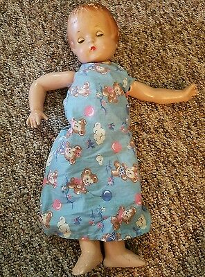 Effanbee Patsy Ann Doll Vtg Composition jointed dolls 19 in 1930s