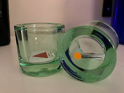 iittala Glass Candle Holder Or Votive Kivi, LIMITED EDITION Unique Color