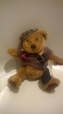 Sherwood the Bear of long life 1996 By the Brass Button Bear Condition