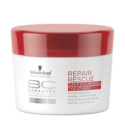Masque Nutritif Intense Repair Rescue Bonacure Schwarzkopf 200 ml