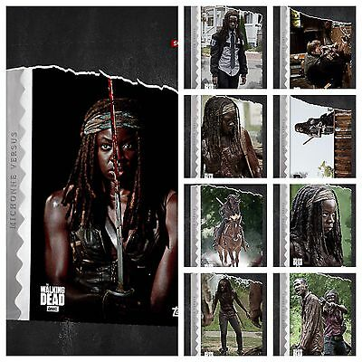 Topps The Walking Dead Card Trader Complete Michonne Versus Katana Set w/ Award