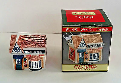 Coca Cola Barber Shop Canister Collection