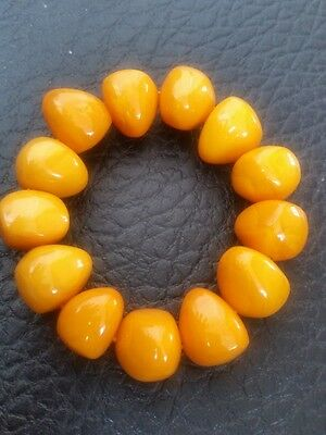 Certificat Vintage Natural BALTIC AMBER Beeswax Fashion  Fine Bracelet