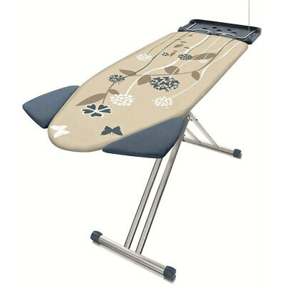Philips GC240-05 Easy8 Ironing Board W/ ShoulderWing/XL Iron Tray/Clothes Hanger