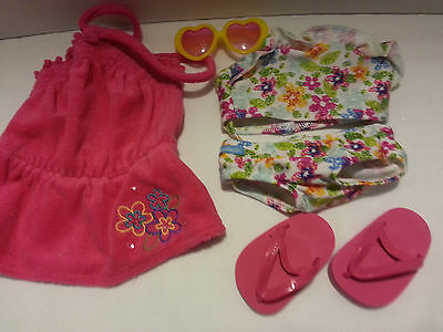 American girl - retired beach pink outfit