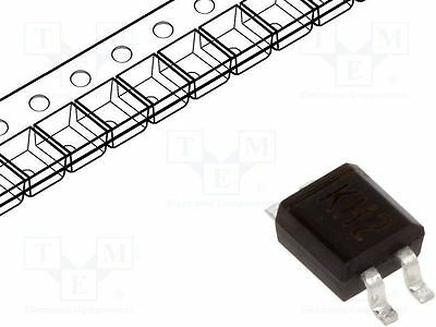 5 pcs Single phase rectifier bridge; Urmax:380V; If:0.5A; Ifsm:20A