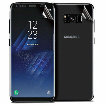 Front + Back Full Cover Screen Protector Film For Samsung Galaxy S8 / S8 Plus