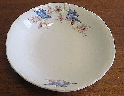 Radisson W.S. George Bluebird Small Bowl #1543 - 6 1/4""
