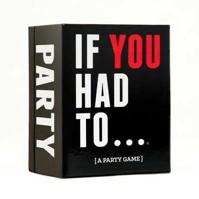 If You Had To |  - Board Game New