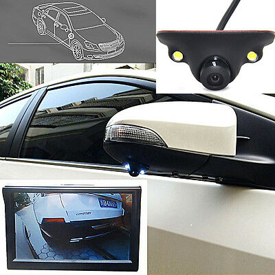 Wide Angle Auto Blind Spot Camera Side View Monitoring Cam IP68 for Truck SUV