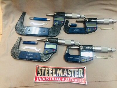 Digital Micrometer 4 Different Sizes