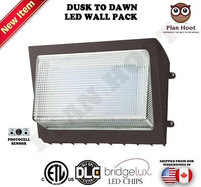 Dusk to Dawn LED Wall Pack lights 60W 90W 120W 135W For Outdoor Commercial Use