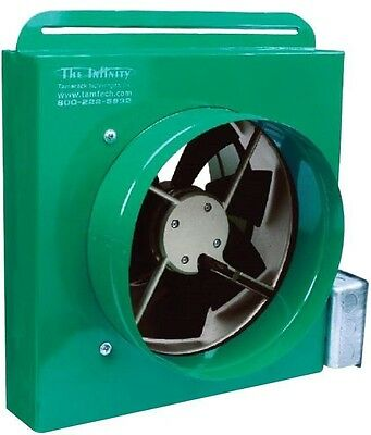 Home Cooling Ventilation 1100CFM Ducted Whole House Fan with MakeUp Air Kit New