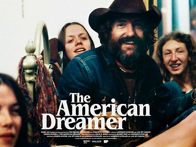 The American Dreamer Alamo Drafthouse Mondo Jay Shaw Print Exclusive Sold Out