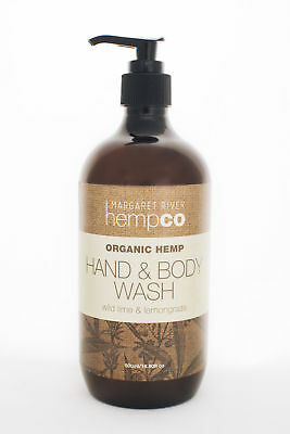 NEW  Hand & Body Wash - Wild Lime & Lemongrass - 240ml