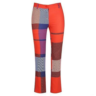 Ladies Golf Pant -  Tartan Pants