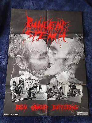 PUNGENT STENCH - Been Caught Buttering POSTER (84cm x 59cm) RARE '91 Death Metal