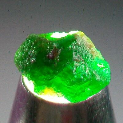 20.2ct 100% Natural Untreated big Clean Tsavorite Garnet Facet Rough Crystal