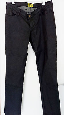 Black Draggin Kevlar stretch Motocycle Jeans AS NEW RRP$299