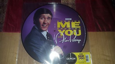 Alan Partridge Knowing Me Knowing You Picture Lp  Record Store Day 2016 *new*