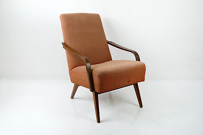 1 of 2 Vintage Retro Mid Century Danish Armchair 1960's 1970's