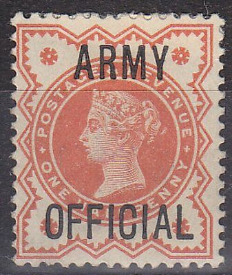 GB QV - SG O41 - Army OFFICIAL ½d - mounted mint