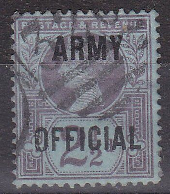 GB QV - SG O44 - Army OFFICIAL 2½d - used