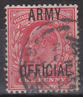 GB KGVII - SG O49 - Army OFFICIAL 1d - used