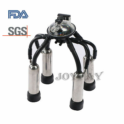 Cow Milking Machine Parts Milker Claw Cluster Teat-cups Shells FDA US Stock