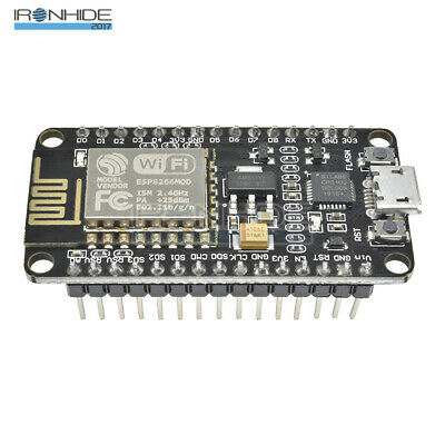 NodeMcu Lua WIFI Internet Things Development Board Based ESP8266 CP2102 Módulo